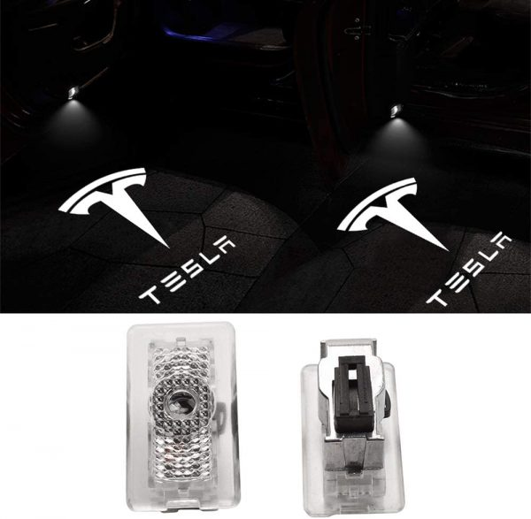 Tesla Logo Puddle Light