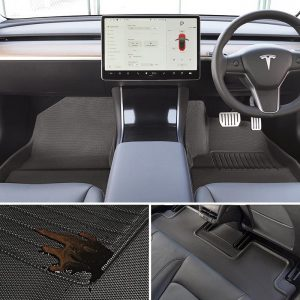 Model 3 All-Weather Floor Mats